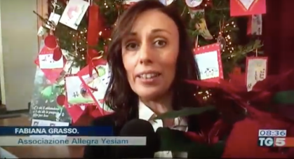 """Allegra, Yes I am"" al Tg5"
